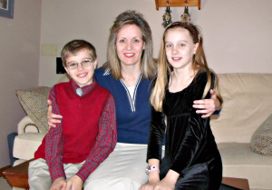 Trent's beautiful family --the very blessed beneficiaries of his new life!