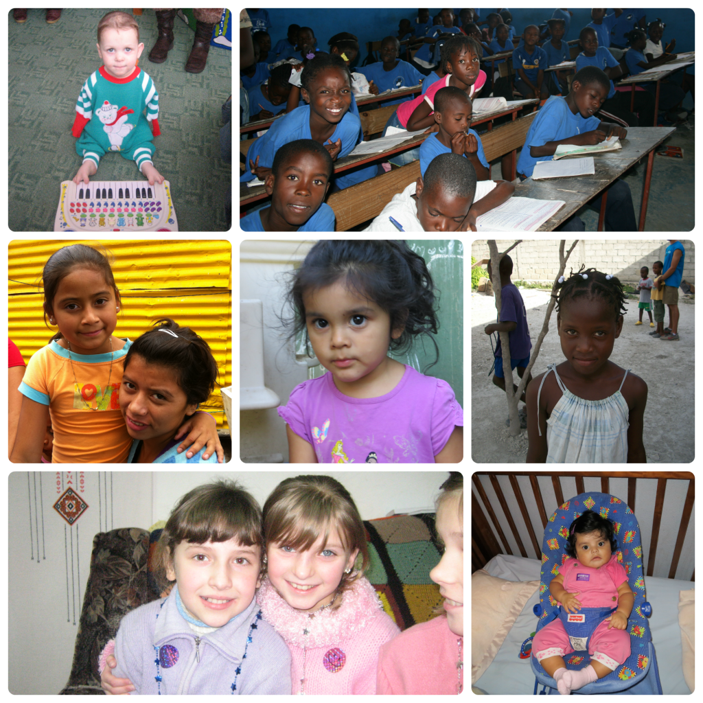 orphans collage
