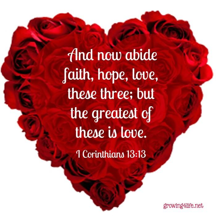 I Corinthians 1313