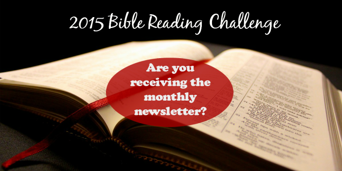 BibleReadingChallengenewsletter