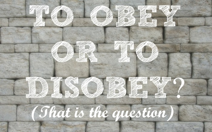 To Obey