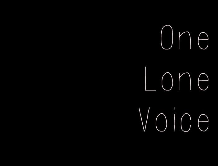 OneLoneVoice